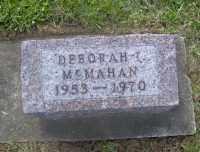 MCMAHAN, DEBORAH IRENE - Muskingum County, Ohio | DEBORAH IRENE MCMAHAN - Ohio Gravestone Photos