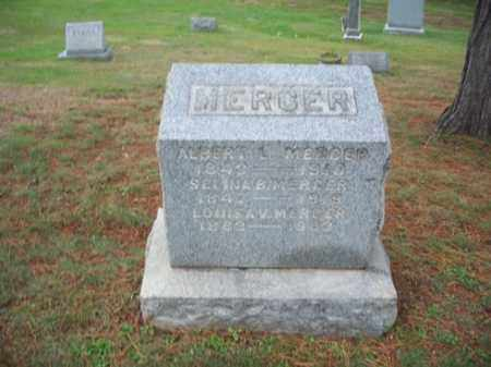 MERCER, LOUISA V, - Muskingum County, Ohio | LOUISA V, MERCER - Ohio Gravestone Photos