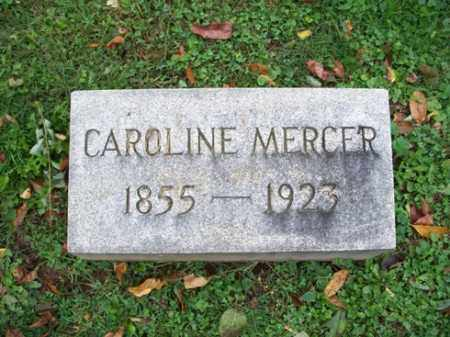 MERCER, CARLINE - Muskingum County, Ohio | CARLINE MERCER - Ohio Gravestone Photos