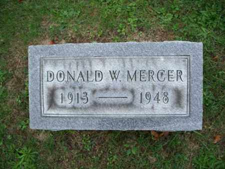 MERCER, DONALD W. - Muskingum County, Ohio | DONALD W. MERCER - Ohio Gravestone Photos
