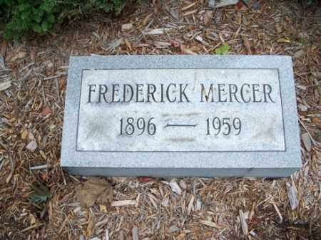MERCER, FREDERICK - Muskingum County, Ohio | FREDERICK MERCER - Ohio Gravestone Photos