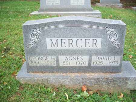 MERCER, GEORGE H. - Muskingum County, Ohio | GEORGE H. MERCER - Ohio Gravestone Photos