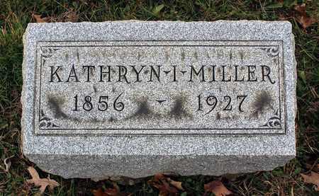 MILLER, KATHRYN I. - Muskingum County, Ohio | KATHRYN I. MILLER - Ohio Gravestone Photos