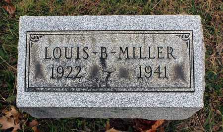MILLER, LOUIS B. - Muskingum County, Ohio | LOUIS B. MILLER - Ohio Gravestone Photos