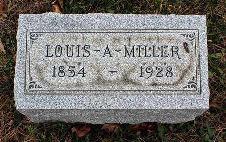 MILLER, LOUIS A. - Muskingum County, Ohio | LOUIS A. MILLER - Ohio Gravestone Photos