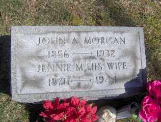 MORGAN, JOHN A - Muskingum County, Ohio | JOHN A MORGAN - Ohio Gravestone Photos