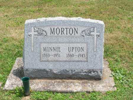 MORTON, UPTON - Muskingum County, Ohio | UPTON MORTON - Ohio Gravestone Photos