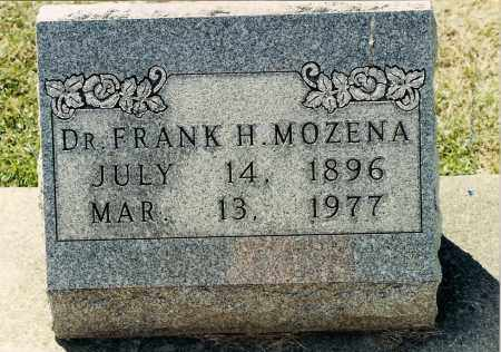 MOZENA, FRANK HOBART - Muskingum County, Ohio | FRANK HOBART MOZENA - Ohio Gravestone Photos