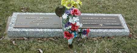 MOZENA, ELIZABETH ANN - Muskingum County, Ohio | ELIZABETH ANN MOZENA - Ohio Gravestone Photos