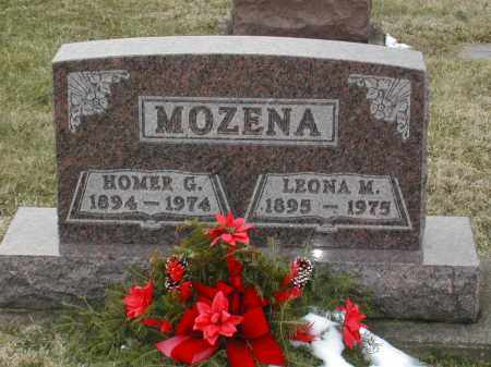 MOZENA, HOMER GERALD - Muskingum County, Ohio | HOMER GERALD MOZENA - Ohio Gravestone Photos