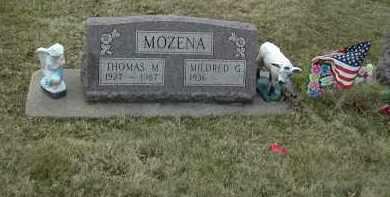 MOZENA, THOMAS MARSHALL - Muskingum County, Ohio | THOMAS MARSHALL MOZENA - Ohio Gravestone Photos