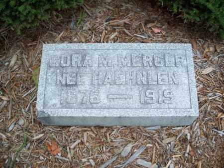 MERCER NEE HAEHNLEN, CORA M. - Muskingum County, Ohio | CORA M. MERCER NEE HAEHNLEN - Ohio Gravestone Photos