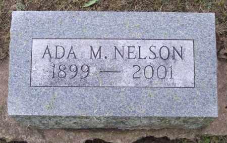 NELSON, ADA M. - Muskingum County, Ohio | ADA M. NELSON - Ohio Gravestone Photos