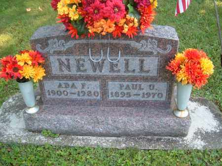 NEWELL, PAUL U - Muskingum County, Ohio | PAUL U NEWELL - Ohio Gravestone Photos