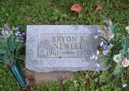 NEWELL, BRYON.K - Muskingum County, Ohio | BRYON.K NEWELL - Ohio Gravestone Photos