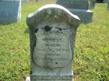 NEWELL, ELIZABETH ? - Muskingum County, Ohio | ELIZABETH ? NEWELL - Ohio Gravestone Photos