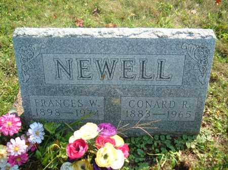 NEWELL, FRANCES W - Muskingum County, Ohio | FRANCES W NEWELL - Ohio Gravestone Photos