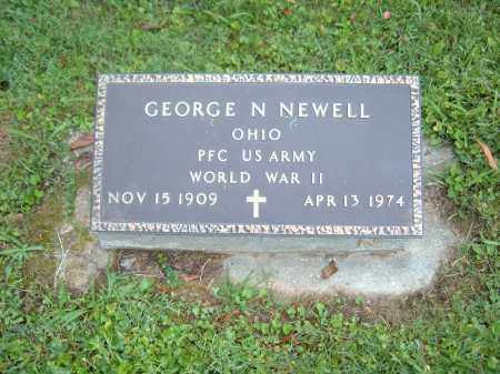 NEWELL, GEORGE N - Muskingum County, Ohio | GEORGE N NEWELL - Ohio Gravestone Photos