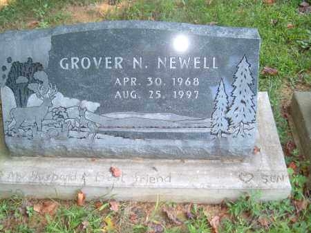 NEWELL, GROVER N - Muskingum County, Ohio | GROVER N NEWELL - Ohio Gravestone Photos