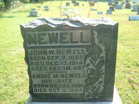 NEWELL, ANNIE M. - Muskingum County, Ohio | ANNIE M. NEWELL - Ohio Gravestone Photos