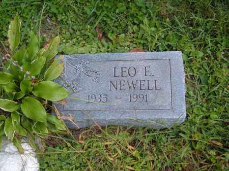 NEWELL, LEO E. - Muskingum County, Ohio | LEO E. NEWELL - Ohio Gravestone Photos