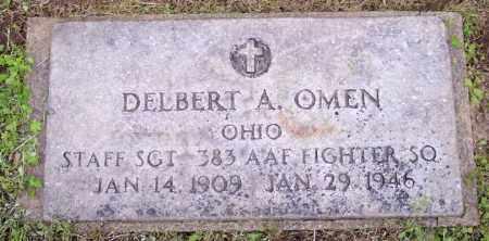 OMEN, DELBERT A. - Muskingum County, Ohio | DELBERT A. OMEN - Ohio Gravestone Photos