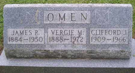 OMEN, CLIFFORD J. - Muskingum County, Ohio | CLIFFORD J. OMEN - Ohio Gravestone Photos