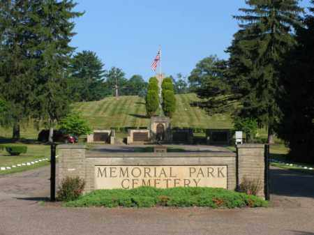 PARK, MEMORIAL - Muskingum County, Ohio | MEMORIAL PARK - Ohio Gravestone Photos
