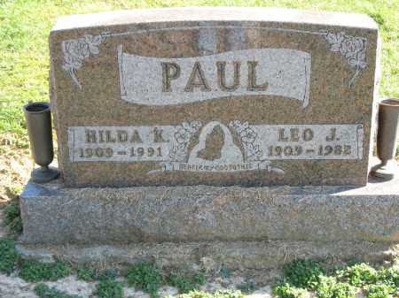 PAUL, HILDA K. - Muskingum County, Ohio | HILDA K. PAUL - Ohio Gravestone Photos