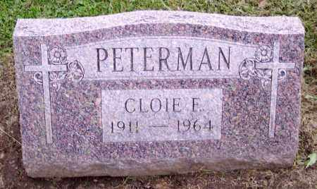 PETERMAN, CLOIE F. - Muskingum County, Ohio | CLOIE F. PETERMAN - Ohio Gravestone Photos