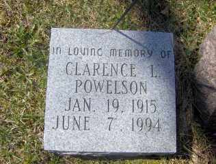 POWELSON, CLARENCE L - Muskingum County, Ohio | CLARENCE L POWELSON - Ohio Gravestone Photos