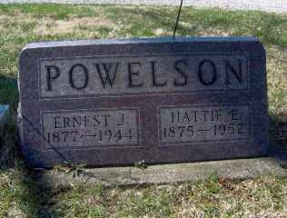 POWELSON, ERNEST J - Muskingum County, Ohio | ERNEST J POWELSON - Ohio Gravestone Photos