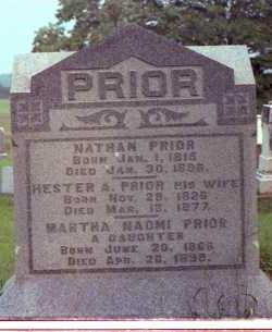 PRIOR, NATHAN - Muskingum County, Ohio | NATHAN PRIOR - Ohio Gravestone Photos