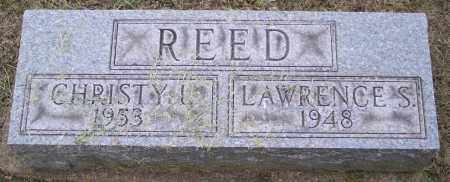 REED, LAWRENCE S. - Muskingum County, Ohio | LAWRENCE S. REED - Ohio Gravestone Photos