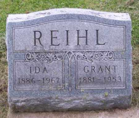 REIHL, IDA - Muskingum County, Ohio | IDA REIHL - Ohio Gravestone Photos