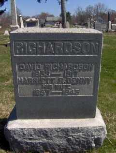 DENNY RICHARDSON, HARRIETT R. - Muskingum County, Ohio | HARRIETT R. DENNY RICHARDSON - Ohio Gravestone Photos
