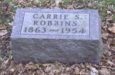 ROBBINS, CARRIE - Muskingum County, Ohio | CARRIE ROBBINS - Ohio Gravestone Photos