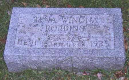 ROBBINS, TINA WINONA - Muskingum County, Ohio | TINA WINONA ROBBINS - Ohio Gravestone Photos