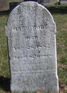 ROBE, MARY - Muskingum County, Ohio | MARY ROBE - Ohio Gravestone Photos