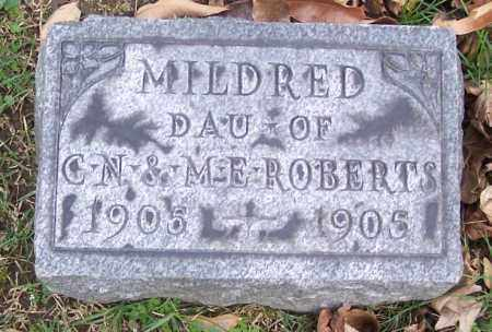 ROBERTS, MILDRED - Muskingum County, Ohio | MILDRED ROBERTS - Ohio Gravestone Photos