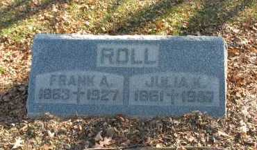 ROLL, JULIA K. - Muskingum County, Ohio | JULIA K. ROLL - Ohio Gravestone Photos