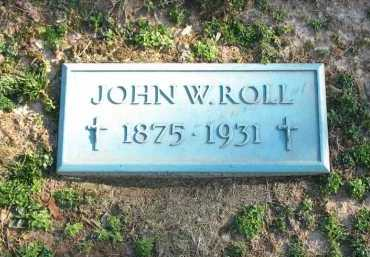 ROLL, JOHN W. - Muskingum County, Ohio | JOHN W. ROLL - Ohio Gravestone Photos