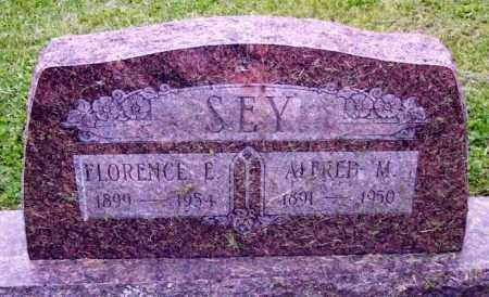 SEY, ALFRED M. - Muskingum County, Ohio | ALFRED M. SEY - Ohio Gravestone Photos