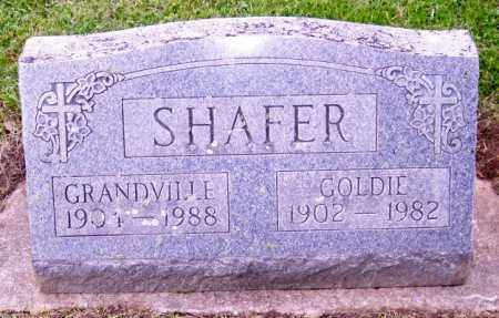 SHAFER, GRANDVILLE - Muskingum County, Ohio | GRANDVILLE SHAFER - Ohio Gravestone Photos