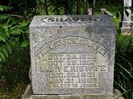 SHAVER, MARY E. - Muskingum County, Ohio | MARY E. SHAVER - Ohio Gravestone Photos