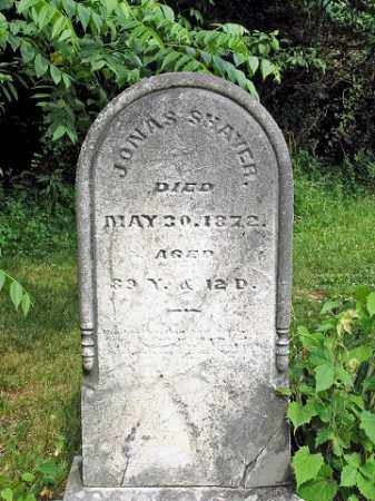 SHAVER, JONAS - Muskingum County, Ohio | JONAS SHAVER - Ohio Gravestone Photos