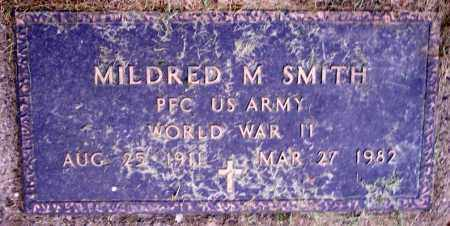 SMITH, MILDRED M. - Muskingum County, Ohio | MILDRED M. SMITH - Ohio Gravestone Photos