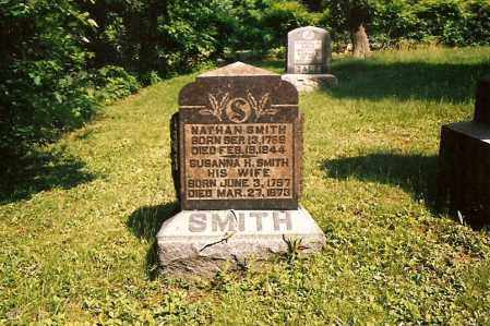SMITH, NATHAN - Muskingum County, Ohio | NATHAN SMITH - Ohio Gravestone Photos
