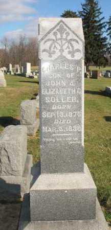 SOLLER, CHARLES P. - Muskingum County, Ohio | CHARLES P. SOLLER - Ohio Gravestone Photos