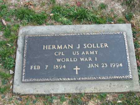 SOLLER, HERMAN J. - Muskingum County, Ohio   HERMAN J. SOLLER - Ohio Gravestone Photos